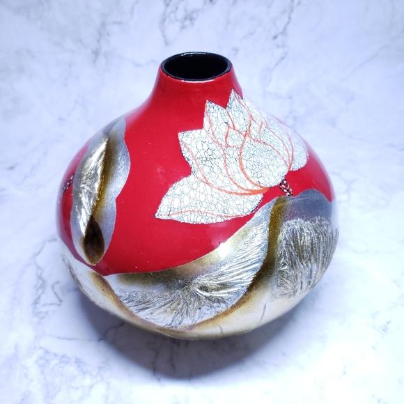 Asian Inspired Vase